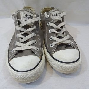 CONVERSE ALL STAR Gray Canvas Sneakers Shoes